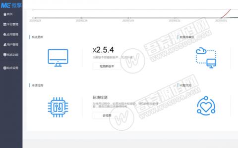 最新微擎商业版V2.5.4完整安装包 微擎纯净框架,无任何限制
