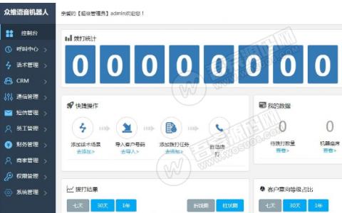 最新价值4800电销语音机器人接单运营版 完整版源码+文字安装教程